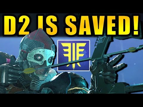 DESTINY 2 SAVED! - New SUPERS! - BOW & ARROWS! - New RAID & More! | Forsaken DLC thumbnail
