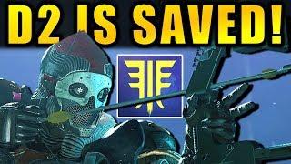 DESTINY 2 SAVED! - New SUPERS! - BOW & ARROWS! - New RAID & More!   Forsaken DLC