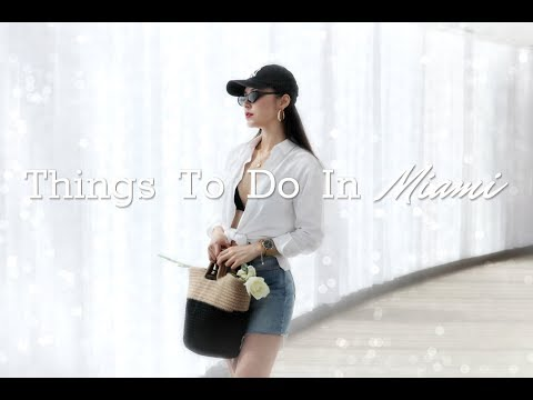 Things to do in Miami | Travel & Lifestyle Vlog | Miami South Beach🌴
