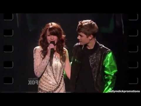 Drew Ryniewicz & Justin Bieber - The X Factor U. S. - Guest Performance - Finals
