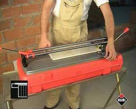 Precio cortadora de azulejo rubi