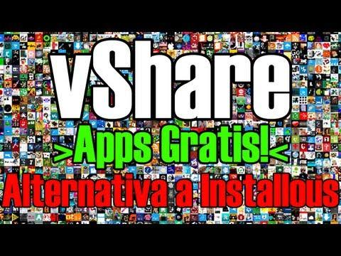vShare: Alternativa a Installous para descargar Apps Gratis