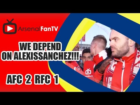 We Depend On Alexis Sanchez!!! | FA Cup Semi-Final- Arsenal 2 Reading 1