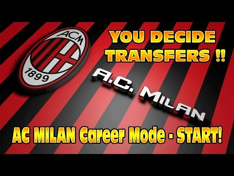 FIFA 14 AC Milan Career #1 YOU Decide Transfers! The Start - Squad Review