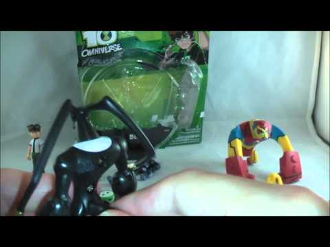 Ben 10 Omniverse Wave 1 Figures Review