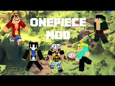สอนลง Minecraft Mod วันพีชเเละวิธีเเก้ไขตัวเกมเด้ง