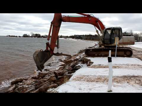 Preventing further erosion at St Andrews Point