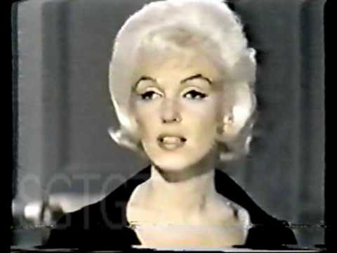 Marilyn Monroe -Something's Got To Give Hair/Costume Tests footage
