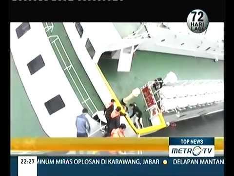 Video Detik Detik Tenggelamnya Kapal Sewol Di Korea Selatan