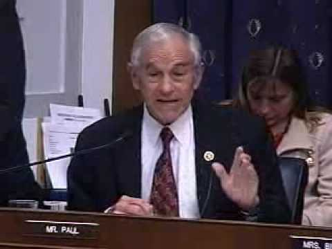 10/29/09 Ron Paul Questions Tim Geithner at Financial Services Hearing
