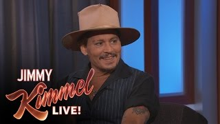 Johnny Depp on His First Press Tour