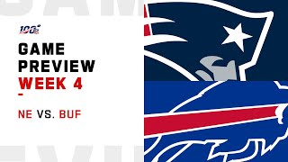 New England Patriots vs. Buffalo Bills Week 4 NFL Game Preview