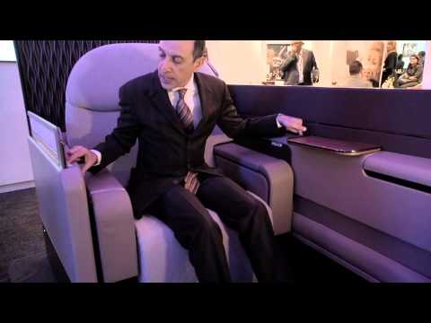 Qatar Airways unveils its Airbus A380 First Class product in Berlin