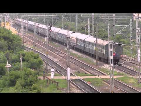 WAP4 powered Chennai Central - Coimbatore Kovai Express