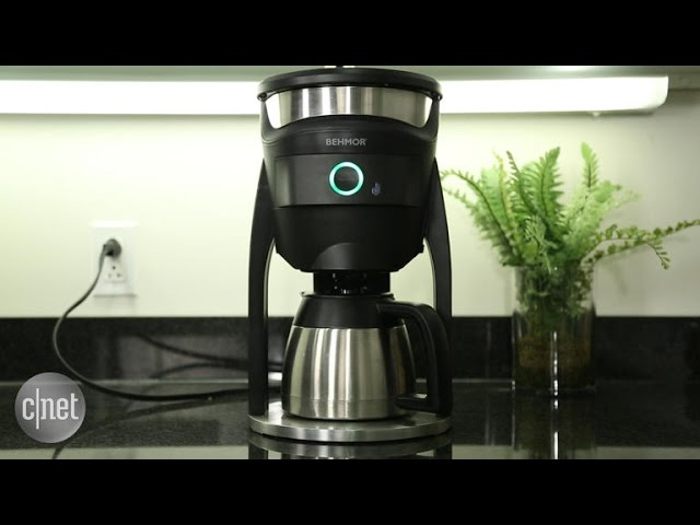 Behmor's app controlled coffee maker links to the Web for better brewing
