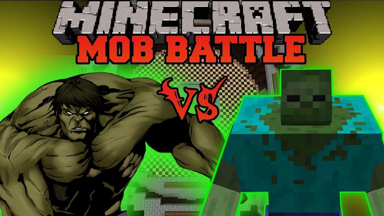 MUTANT ZOMBIE VS HULK Minecraft