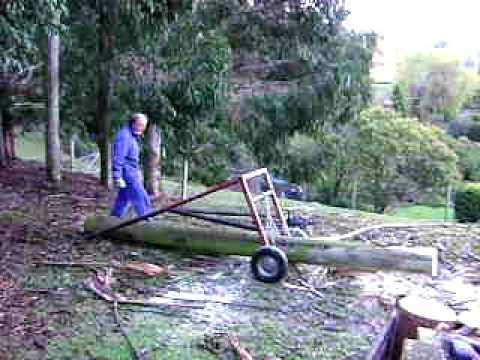 Our own log lifter