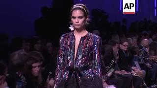 Elie Saab celebrates dark romanticism at Paris ready-to-wear show