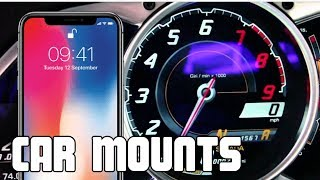 World's Greatest Cell Phone Mount for Cars - iPhone X, Volport Magnet Car Mount Review (Universal)