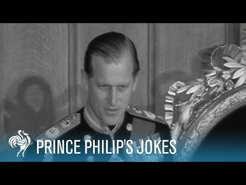 Prince Philip's Jokes video