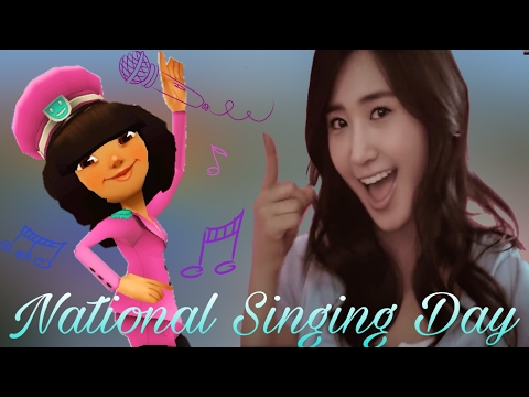 National Singing Day with Mina | Subway Surfers