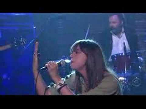 Cat Power on Letterman - Metal Heart - April 1st 08