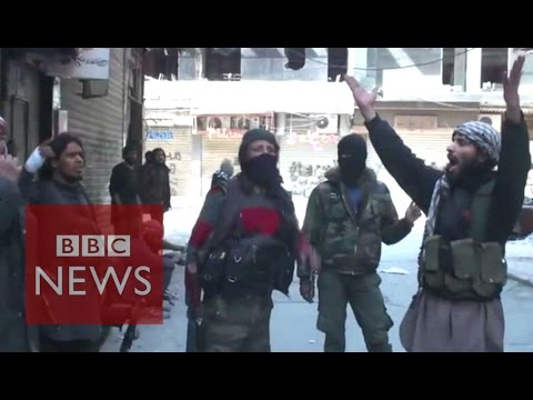 Syria: Islamic State video claims Yarmouk capture - BBC News