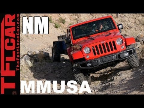 Motor Mountain Monday: Driving a Jeep Wrangler to the highest road in New Mexico