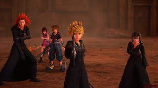 Kingdom Hearts 3 - Boss: Saix (Roxas Return)
