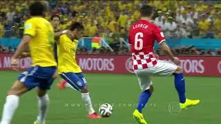 Brasil 3 x 1 Croácia 2014 melhores momentos