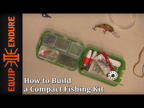 How to Build a Compact Fishing Kit