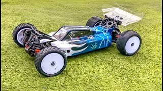 Brand new RC Buggy HB Racing B418 in ACTION! First delivery in Germany!