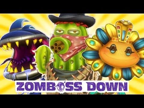 Plants vs. Zombies: Garden Warfare - Zomboss Down All Plants!