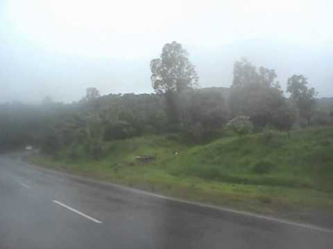 Belgaum - Jamboti/Chorla/Goa road in the rains July 2013