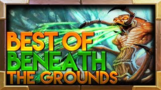 Beneath the Grounds Hearthstone TGT Moments | Hearthstone Funny Best Lucky Moments