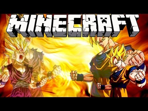 Minecraft DRAGON BALL Z MOD