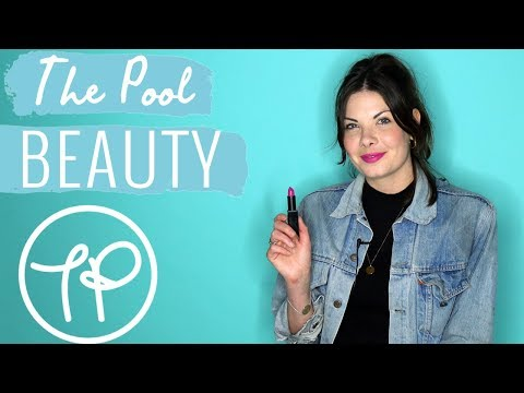 Bright pink lipstick | The Pool Tries | Beauty | The Pool