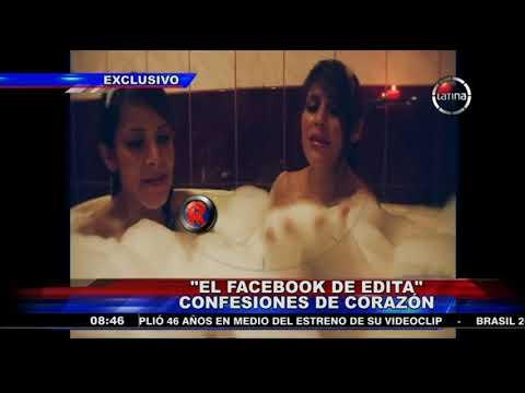 Edita Guerrero se confesaba con sus amigas a través de Facebook