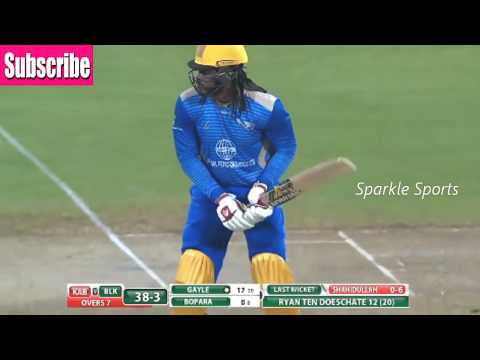 APL final 2018 Chris Gayle 56 Runs off 34 Balls Highlights