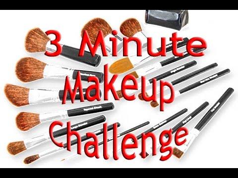 3 Minute Makeup Challenge