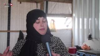 «الكرفانات» لا تحمي غزة من الصقيع.. وشبابها يوجهون رسالة للعالم بخلع ملابسهم
