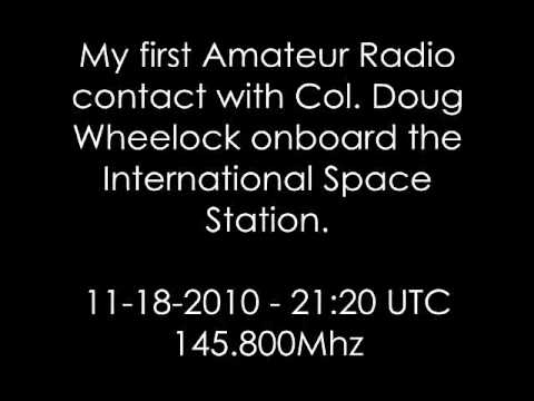 KV9O QSO with Col. Doug Wheelock @ International Space Station.