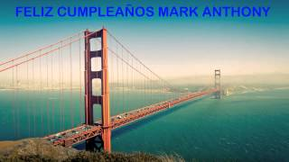 Mark Anthony   Landmarks & Lugares Famosos - Happy Birthday