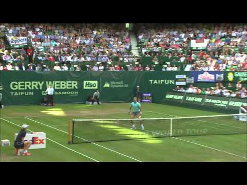 Gerry Weber Open 2014 Achtelfinale: Rafael Nadal vs Dustin Brown