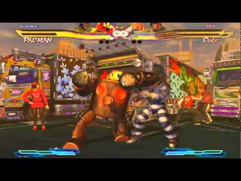 Street Fighter VS Tekken Mega Man & Pac-Man