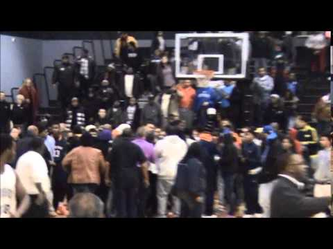 Fight breaks out after York High at Harrisburg boys' basketball game 1...
