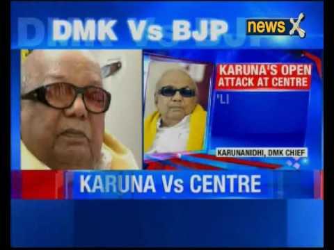 M Karunanidhi  attacks BJP over 'Sanskrit push'