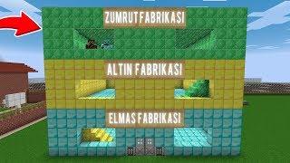 ZENGİN ZÜMRÜT FABRİKASI YAPTIRIYOR! 😱 - Minecraft