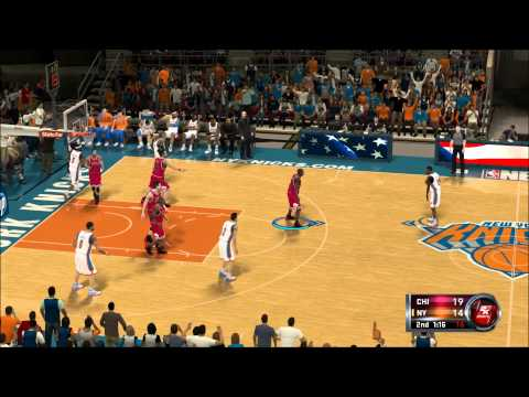 NBA 2k12 Chicago Bulls vs. New York Knicks Season Warmup 1080p DOUBLE VIDEO!!! ONLY 42 MINS