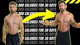 I ate 3,000 CALORIES A DAY for 30 DAYS .... (SHOCKING RESULTS)